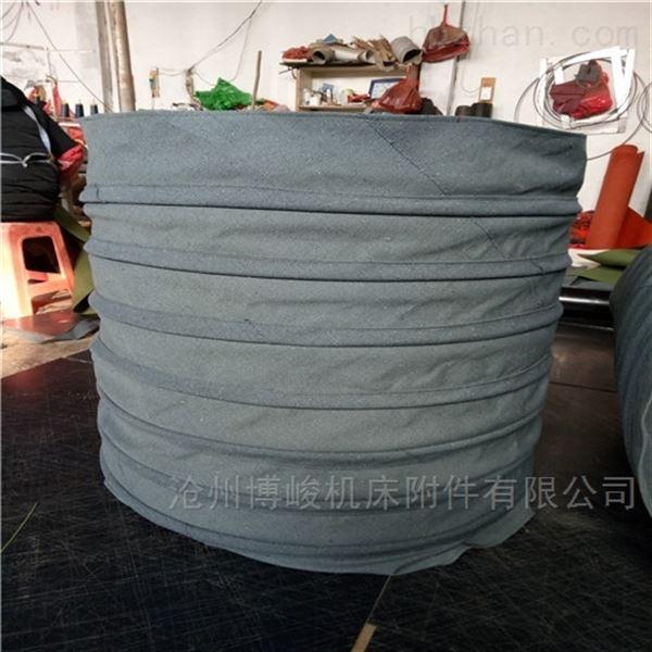耐磨除尘耐高温伸缩布袋厂家生产