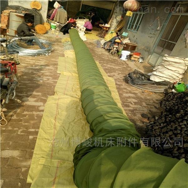 耐高温水泥除尘帆布伸缩布袋厂家直供