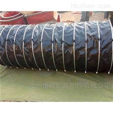 水泥冲料耐压帆布伸缩布袋生产