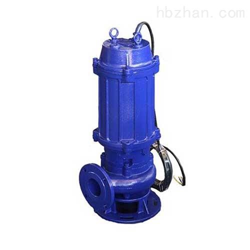 三相污水污物潜水电泵