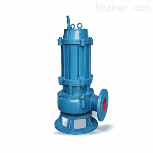 单相污水污物潜水电泵
