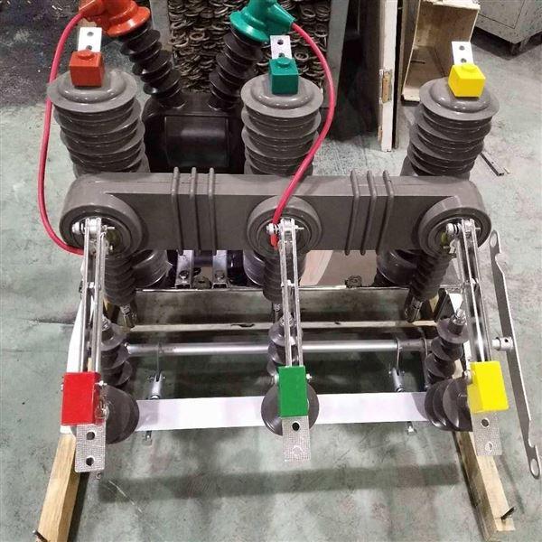 合肥ZW32手动带隔离户外高压真空断路器