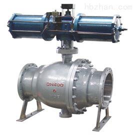 Q647MF气动卸灰球阀