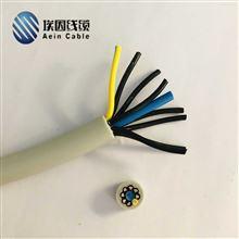 移动安装用中速TRVV TRVVP拖链电缆