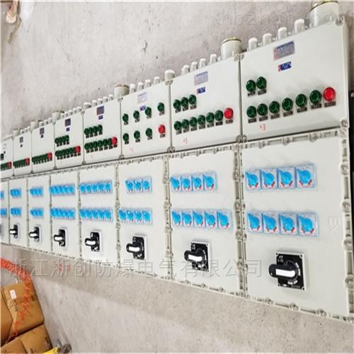 印染厂照明防爆配电箱BXM53 施耐德元件
