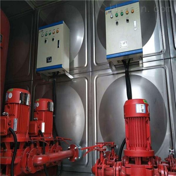 北京36m3屋顶一体箱泵消防水箱有哪些配置?