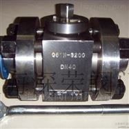 高压焊接球阀