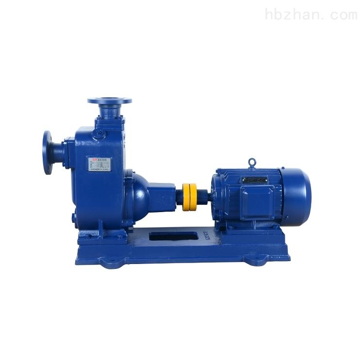 ZW80-50-60 无堵塞卸料泵自吸泵