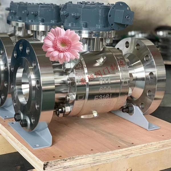 涡轮蜗杆法兰球阀Q347F-900LB