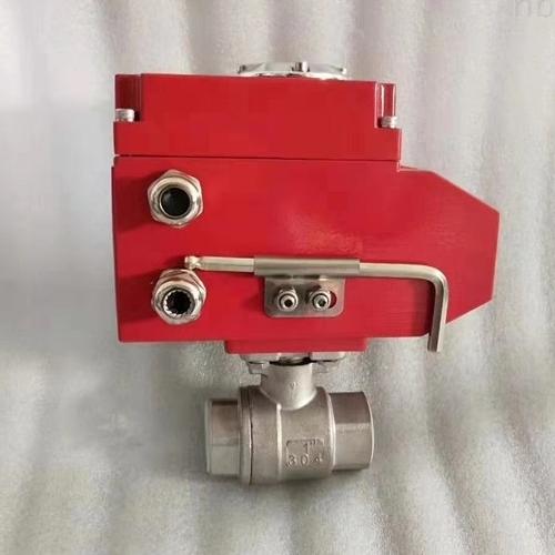 电动螺纹球阀Q911F-16P