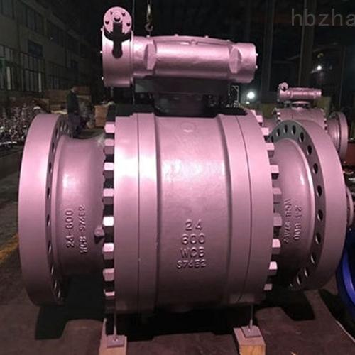 涡轮三件固定式美标球阀Q347F-900LB