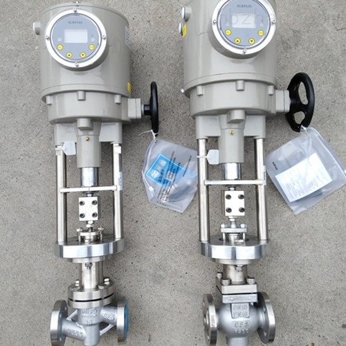 电动不锈钢衬氟调节阀ZDHCF-16P