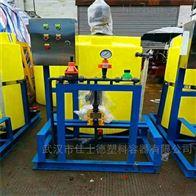 襄陽1.5噸日化用攪拌加藥桶帶計量泵批發