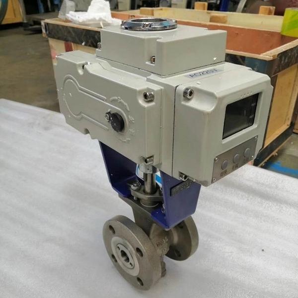 电动V型调节阀VQ947Y-16P