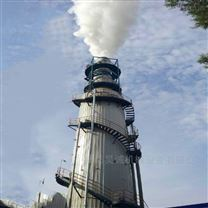 昊诚机械工业废气脱硫塔设备安装改造