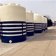 湖北红安10吨PAC储罐塑料平底罐价格