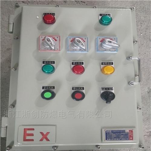 锅炉现场防爆控制箱BXX-
