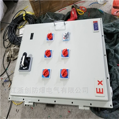 2.2KW污水泵现场防爆箱