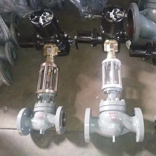 电动蒸汽调节阀ZAZM-PN100