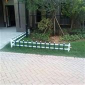 草坪绿地PVC园艺护栏造价核算