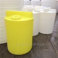 怀化5000L加厚溶液罐塑料溶药桶带搅拌机