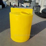 天门300L耐酸碱加药箱塑料搅拌桶供应商