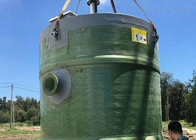 江西景德镇大型一体化排涝泵站