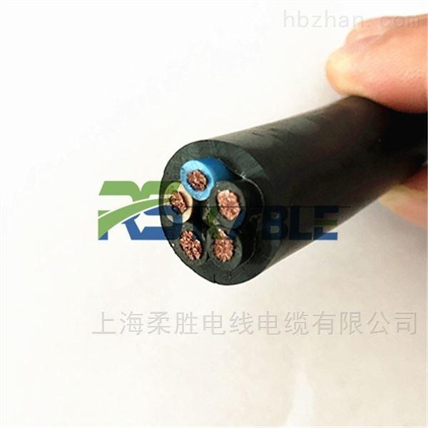 轨道平板车滚筒电缆带钢丝抗拉 电动 搬运车