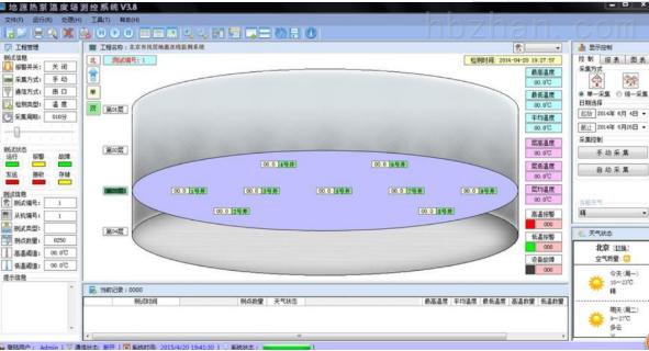 地源热泵温度监测系统的介绍