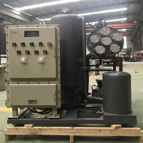 防爆型汽轮机油真空滤油机