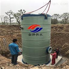 污水管道图纸设计智能一体化预制泵站
