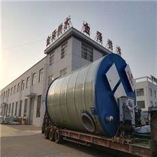 玻璃钢一体化预制泵站现场指导安装