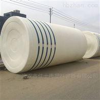 浏阳50吨污水处理水箱环保塑料储蓄罐案例