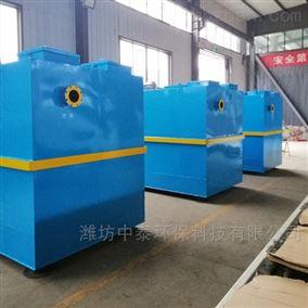 广东省江门市高效沉淀污水处理设备