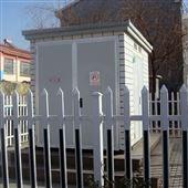 电力设备安全围栏采用PVC塑钢安全护栏