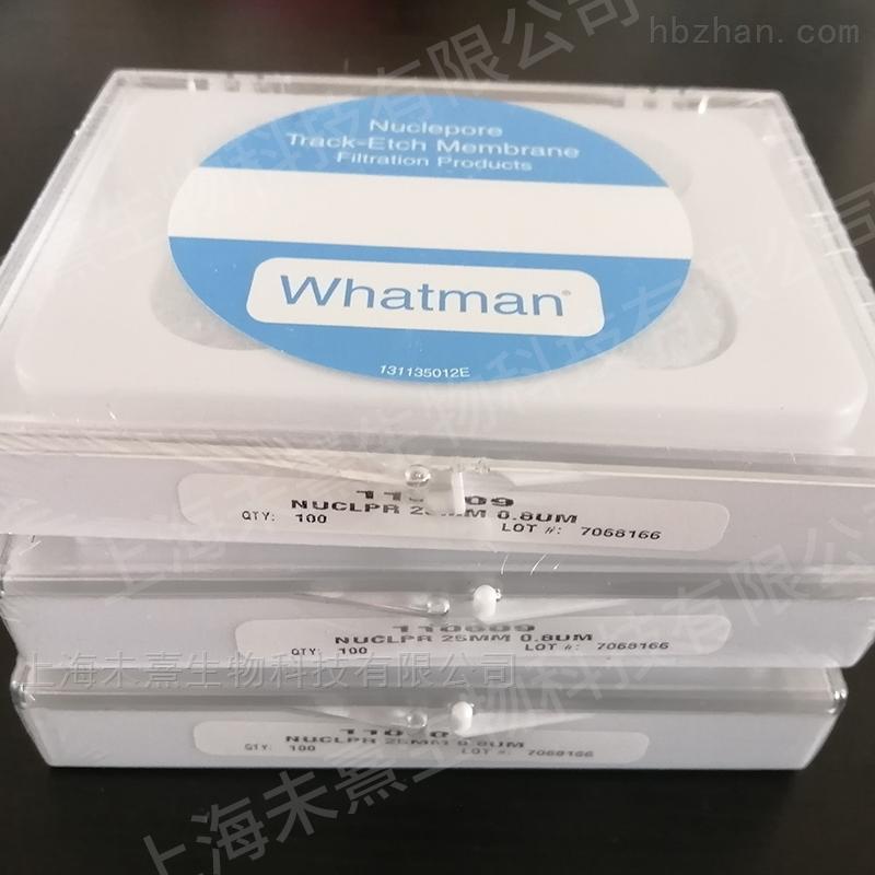 沃特曼原装进口PC膜25mm径迹蚀刻膜