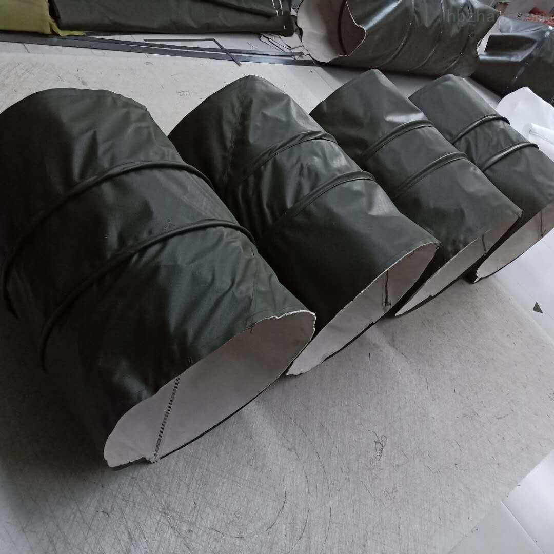 帆布耐磨吊环式伸缩布袋