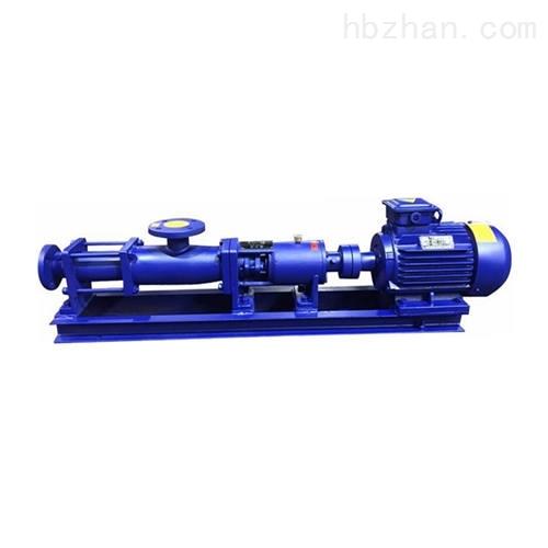 浓浆单螺杆泵