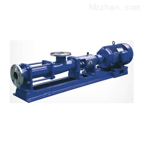 泥浆螺杆泵
