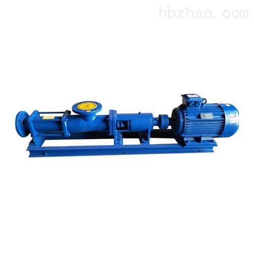 高粘度单螺杆泵
