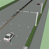 TY-CGT型机动车尾气遥感监测系统