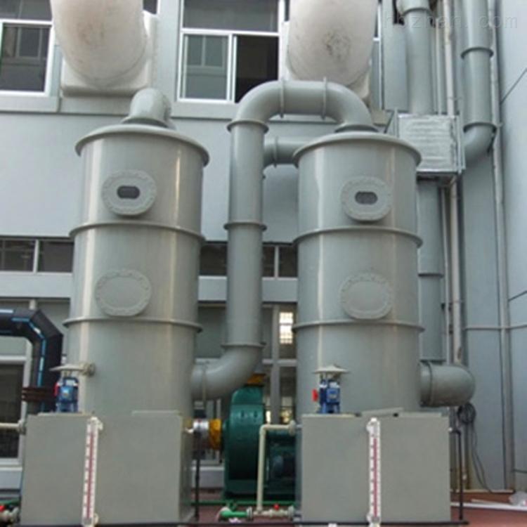 碳钢喷淋塔环振科技供应现货净化设备