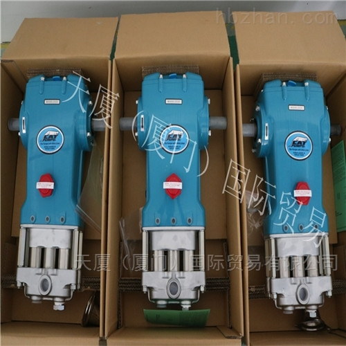 DTRO膜设备CAT2537高压柱塞泵