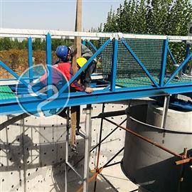 ZBXN-32周边传动半桥式吸泥机安装现场图