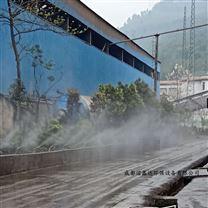 成都工地围挡喷雾设备喷头怎样安装才合要求