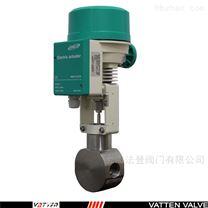 氨氮高浓度废水电动不锈钢调节阀