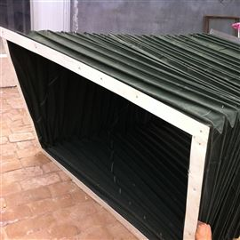 长方形耐温防火通风软连接报价