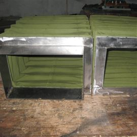 定制排风口通风管道除尘伸缩软连接