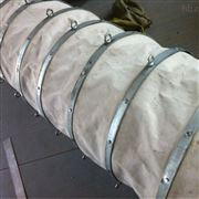 风道口耐温耐正压帆布伸缩软管