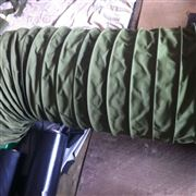 输灰机卸料除尘帆布伸缩布袋厂家
